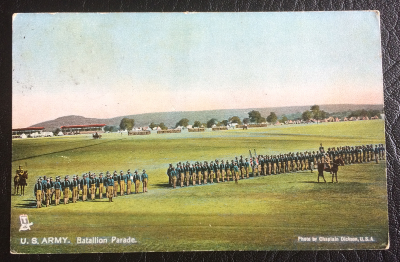 Project Postcard July 1908 US Army Parade