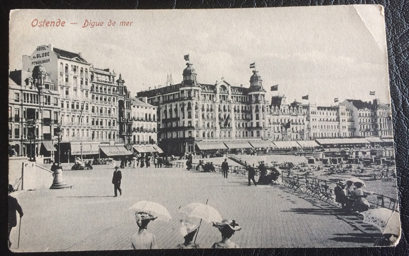 Project Postcard Ostende August 1909