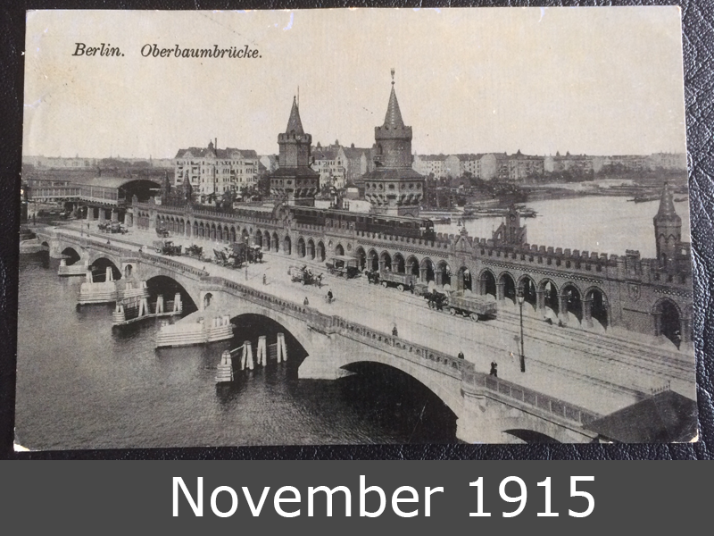 Project Postcard November 1915 Berlin front