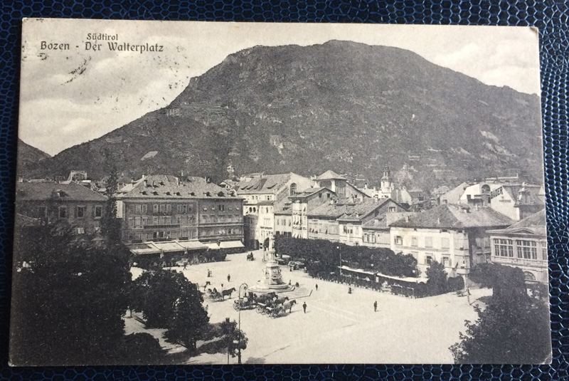 Project Postcard May 1908 Bozen South-Tirol