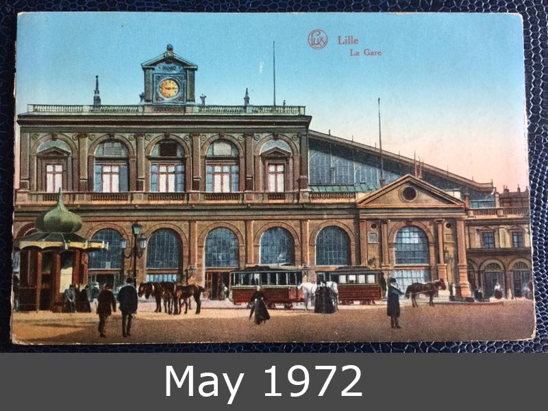 Project Postcard June 1915 Lille France Feldpost Nürnberg front