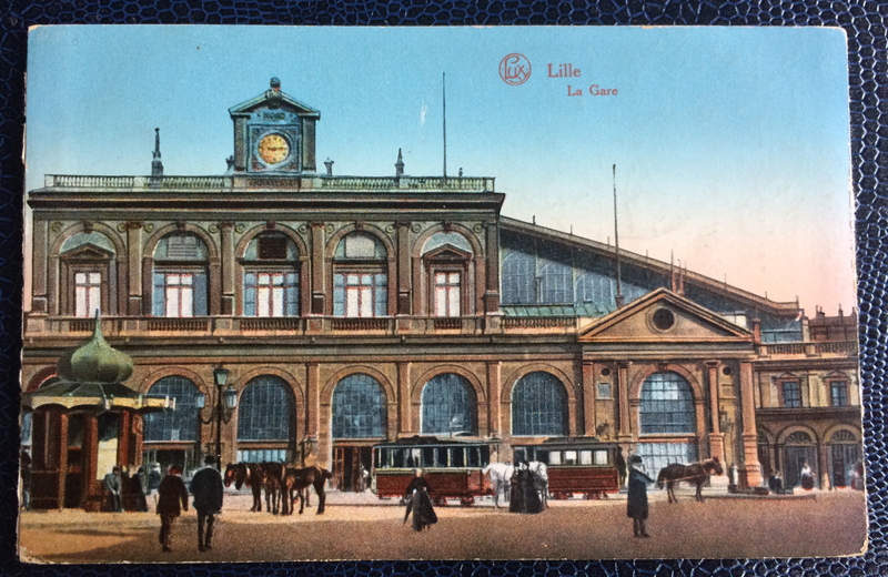 Project Postcard June 1915 Lille France Feldpost Nürnberg