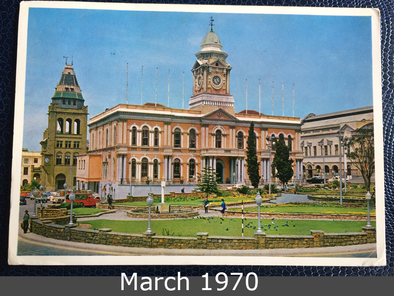 Project Postcard March 1970 Port Elizabeth South Africa front