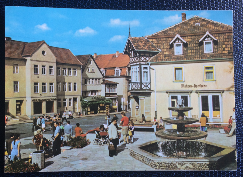 Project Postcard April 1977 Bad Salzungen GDR East Germany
