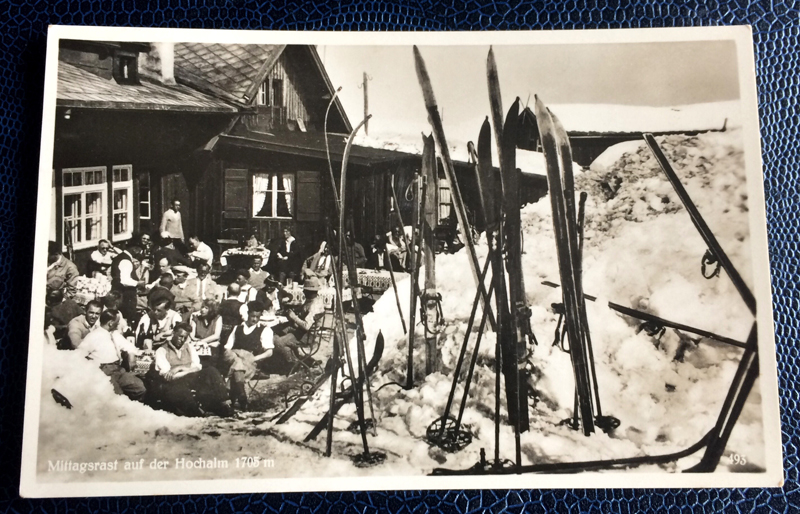 Project Postcard April 1936 Hochalm Garmisch-Partenkirchen Bavaria