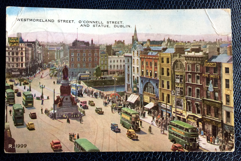 Project Postcard July 1950 Dublin Ireland
