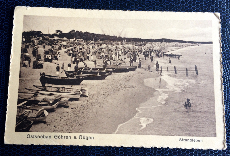 Project Postcard July 1927 Göhren Rügen Strand