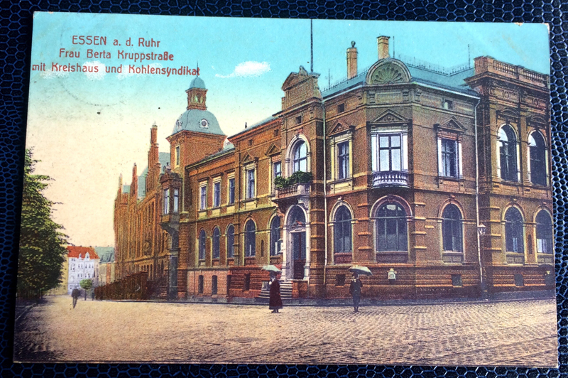 Project Postcard August 1912 Essen a.d. Ruhr