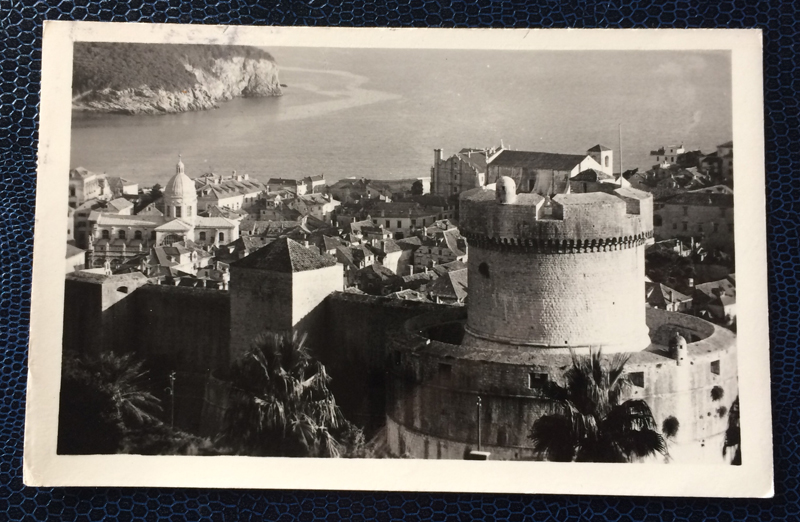 Project Postcard March 1954 Project Postcard April 1954 Dubrovnik Jugoslavija