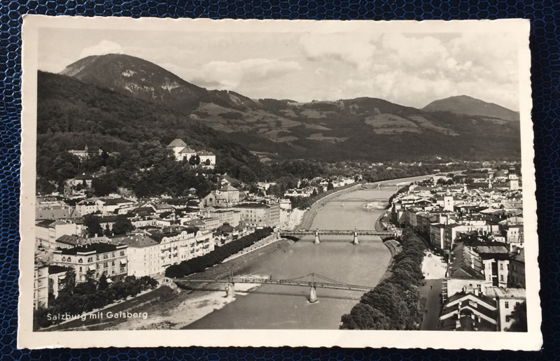 Project Postcard July 1955 Salzburg Austria