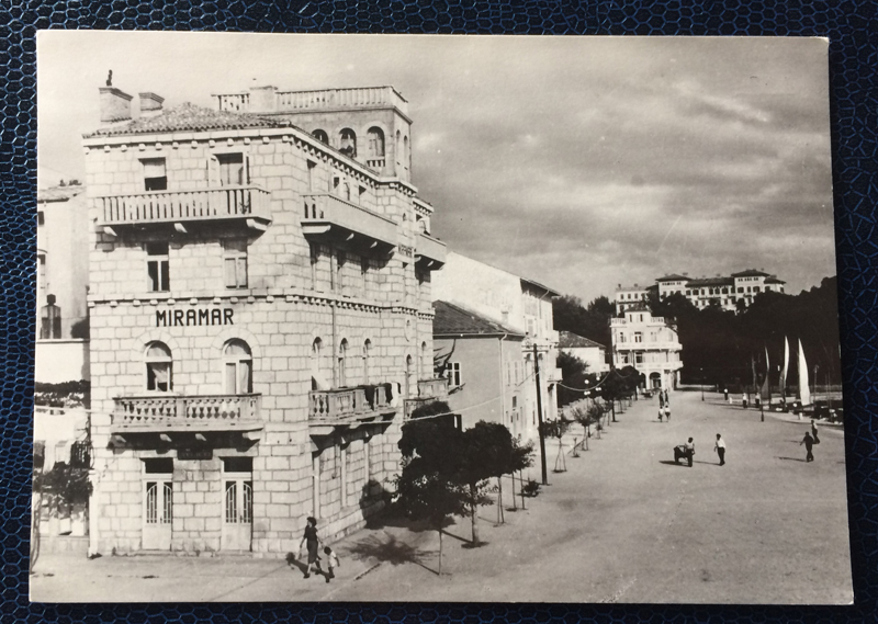 Project Postcard August 1955 Rab Jugoslavija