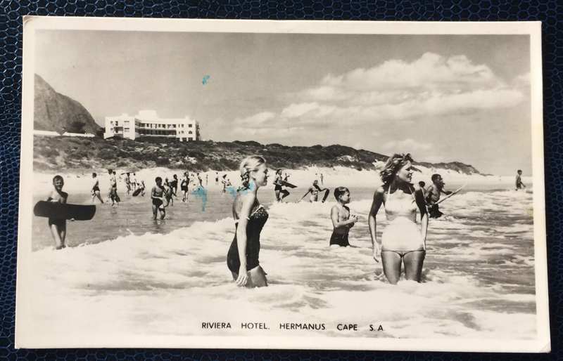 Project Postcard January 1956 Beachgirls Hermanus Cape South Africa
