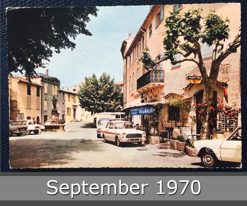 Project Postcard September 1970 Mougins Cote dAzur front