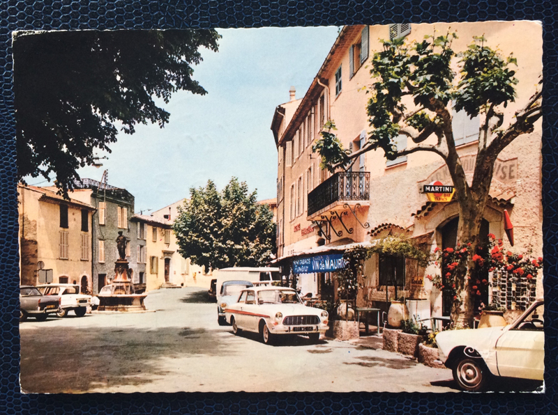 Project Postcard September 1970 Mougins Cote dAzur