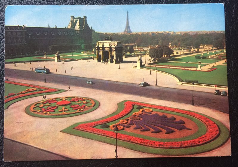 Project Postcard February 1969 Paris Le Louvre