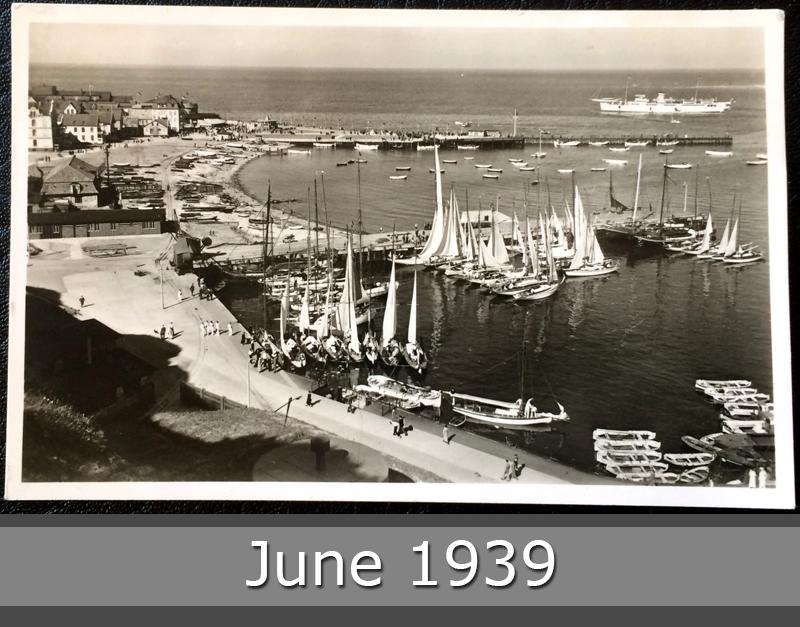 Project Postcard June 1939 Helgoland port front