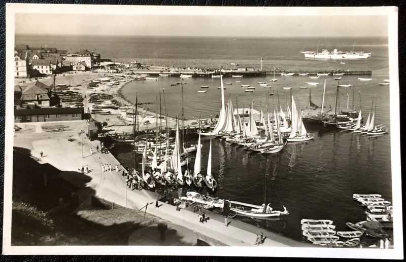 Project Postcard June 1939 Helgoland port