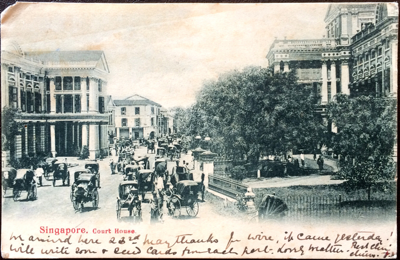 Project Postcard January 1905 Singapore Court House