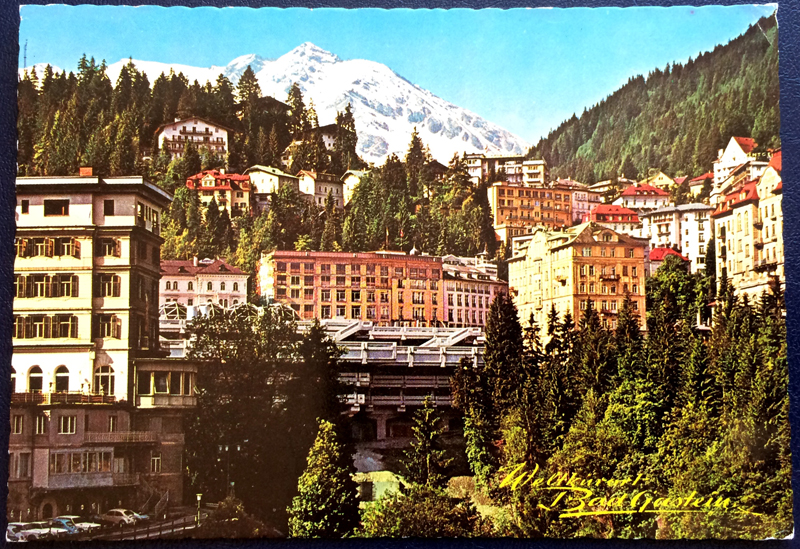 Project Postcard May 1976 Badgastein front