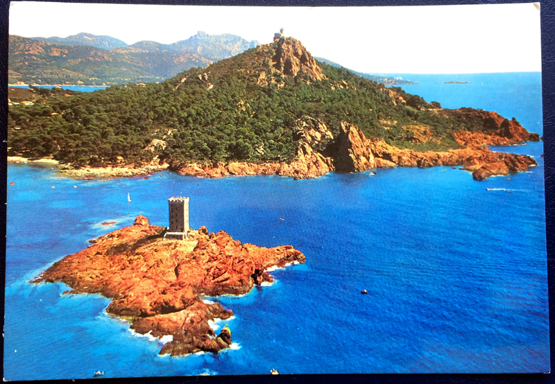 Project Postcard September 1976 Le Dramont L'Ile d'Or France front