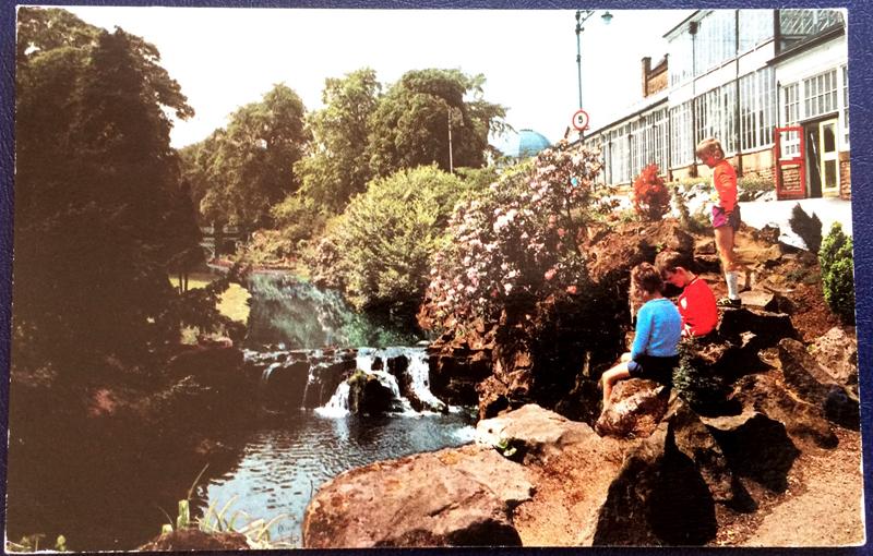 Project Postcard June 1977 Buxton Pavilion Gardens front