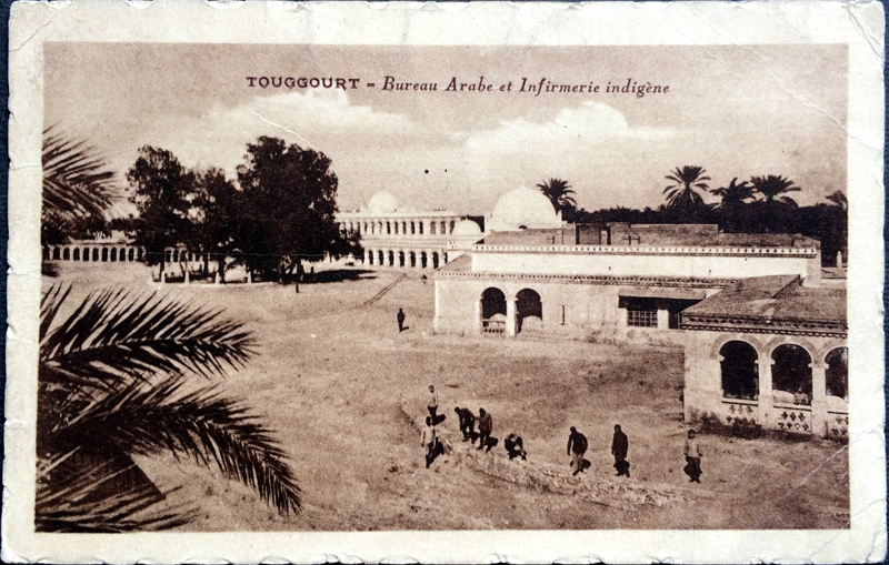 Project Postcard April 1928 - Touggourt Algeria French Africa