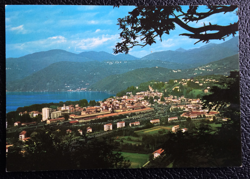 Project Postcard February 1973 - Luino Lake Garda