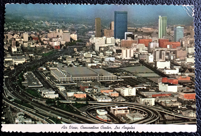 Project Postcard March 1973 - Convention Center in Los Angeles USA