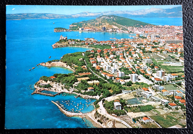 Project Postcard August 1974 - Split Croatia Yugoslavia