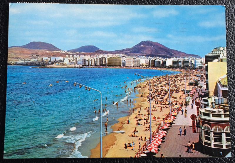 Project Postcard March 1979 - Las Palmas Canary Islands Spain