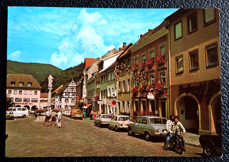 Project Postcard July 1979 - Waldkirch in Schwarzwald Germany