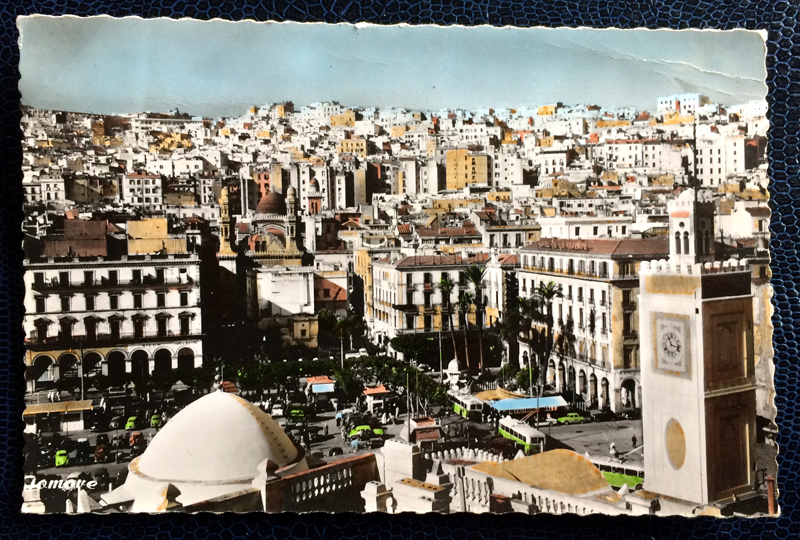 Project Postcard February 1961 - Algiers Algeria La Casbah