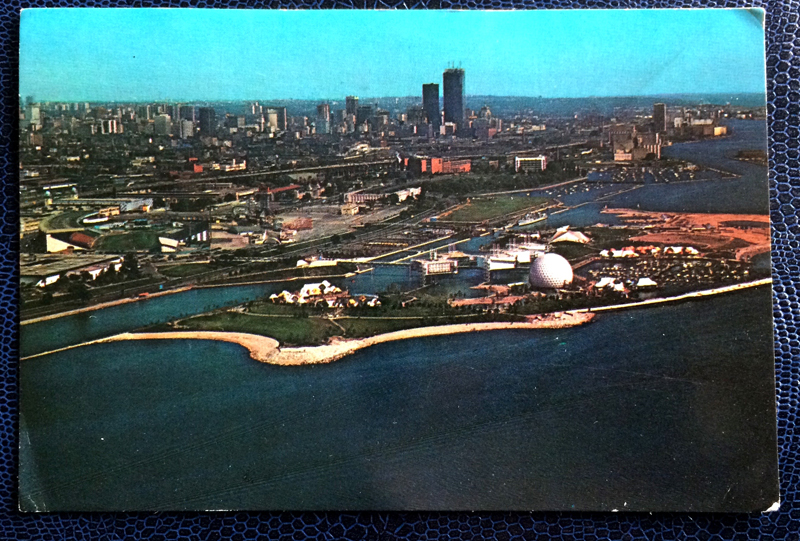 Project Postcard March 1961 - Ontario Place in Toronto Canada