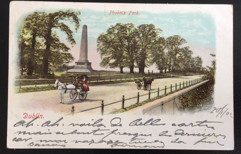 Project Postcard January 1902 - Dublin Ireland front